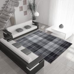 Moderner Designer Wohnzimmer Teppich MIAMI 6610 GRAU