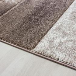 Modern design contour uitgesneden 3D woonkamer vloerkleed Hawaii 1710 beige